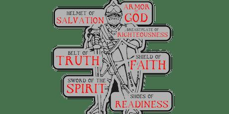 2019 Armor of God 1 Mile, 5K, 10K, 13.1, 26.2 - Olympia tickets