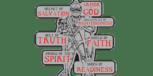 2019 Armor of God 1 Mile, 5K, 10K, 13.1, 26.2 - Olympia