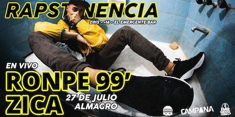 RAPSTINENCIA en Buenos Aires - 27/6 - ATP entradas