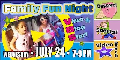"CTNJ Family Fun Night VBS ""Video Blog Star"""