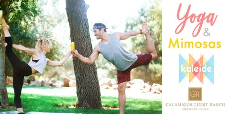 Yoga & Mimosas at Calamigos Guest Ranch and Beach Club with Kaleide tickets