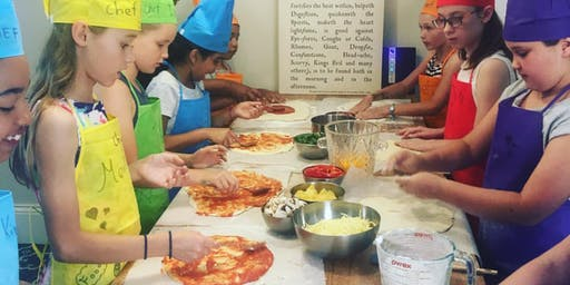 Cunning Kids Pizza Cooking Class