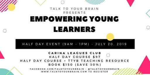 Empowering Young Learners - Workshop for Teachers