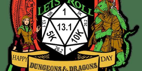 2019 Let's Roll - World D&D Day 1 Mile, 5K, 10K, 13.1, 26.2 - Lansing tickets