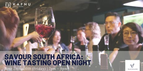 Savour South Africa - June Wine Tasting Open Night tickets