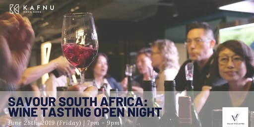 Savour South Africa - June Wine Tasting Open Night