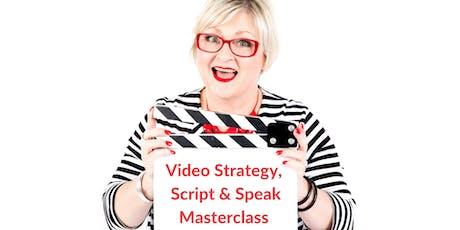 Video: Strategy Script & Speak MASTERCLASS tickets