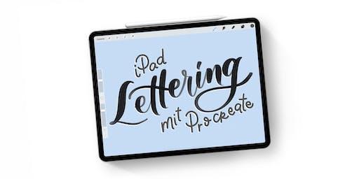 iPad Lettering mit Procreate Workshop - Düsseldorf