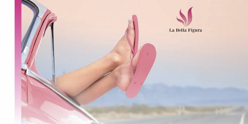 Urlaubsleichte und weiche Füße