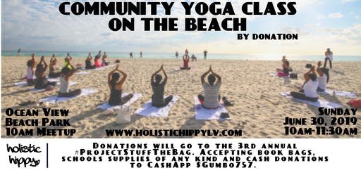 CommUnity Yoga on the Beach