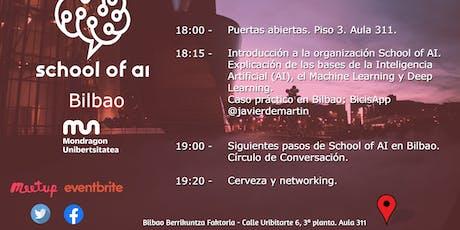 Bilbao School of AI entradas