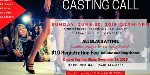 Open Casting Call!