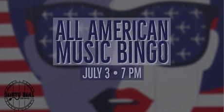 All American Music Bingo tickets