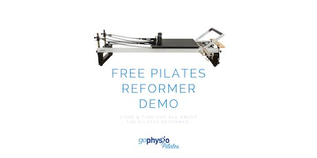 Free Reformer Pilates Demo  tickets