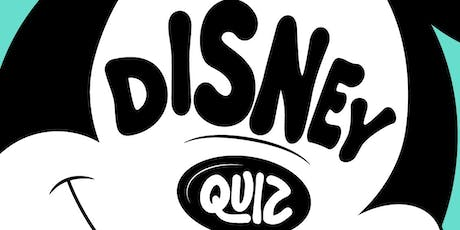 Disney and Pixar Quiz Night tickets