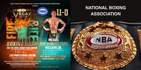 Michael Williams, Jr. Live Pro Boxing Event 7/20/19 tickets