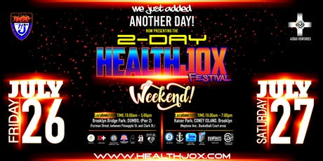 HealthJox Festival Day-1 tickets