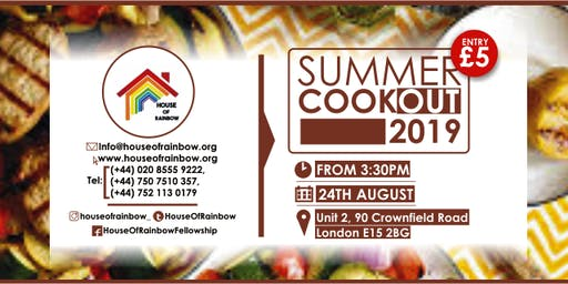 House of Rainbow Summer CookOUT