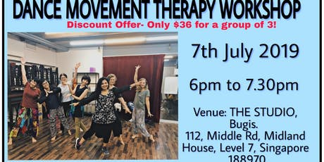 Dance Movement Therapy Workshop tickets