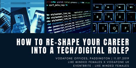 How to re-shape your career into a Tech/Digital ro tickets