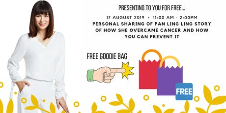 Organic Living Presents: Personal Sharing Of Pan Ling Ling Cancer Story tickets