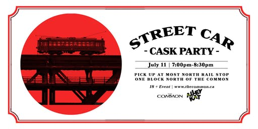 Alley Kat Brewing Street Car Cask Event