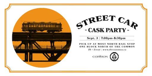 Analog Brewing Street Car Cask Event
