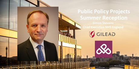 PPP Summer Reception with Simon Stevens, Chief Executive NHS England tickets