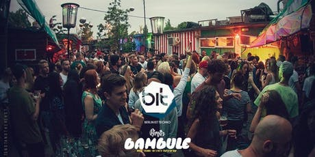 Berlin ist Techno X Bambule Festival (Open Air & Indoor) tickets