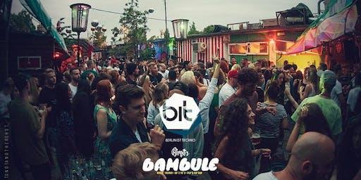 Berlin ist Techno X Bambule Festival (Open Air & Indoor)