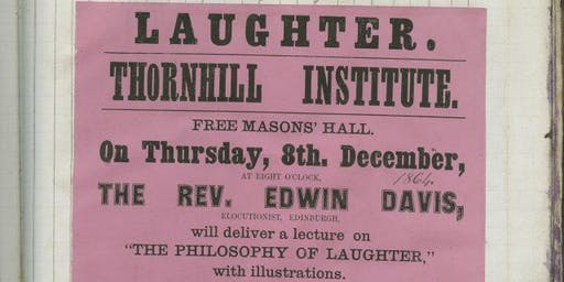 Talk | Dr Liz Holt: Laughter and Humour - Why do we laugh?