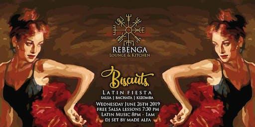 Rebenga presents: Biscuits - Latin Fiesta