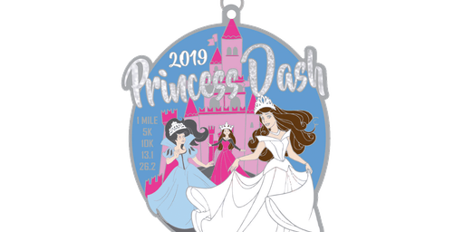 2019 Princess Dash 1 Mile, 5K, 10K, 13.1, 26.2 - Tulsa