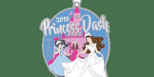 2019 Princess Dash 1 Mile, 5K, 10K, 13.1, 26.2 - Amarillo