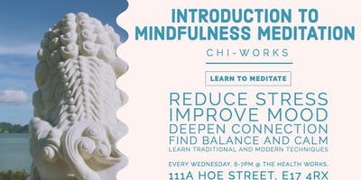Copy of Introduction to Mindfulness & Meditation Course/Drop in Workshops