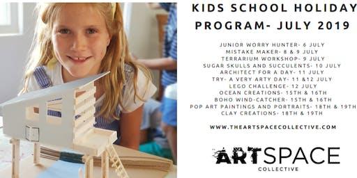 Kids July Holiday Art Workshops