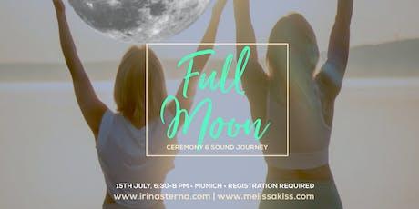 Full Moon Sound Journey with Irina & Melissa Tickets