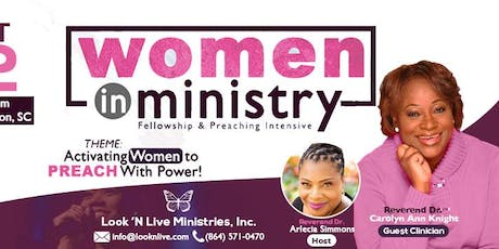 Women in Ministry Fellowship & Preaching Intensive  tickets