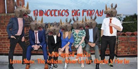 Rhinoceros' Big Friday tickets