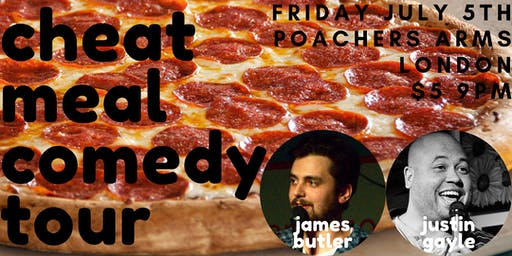 Cheat Meal Comedy Tour at Poachers Arms