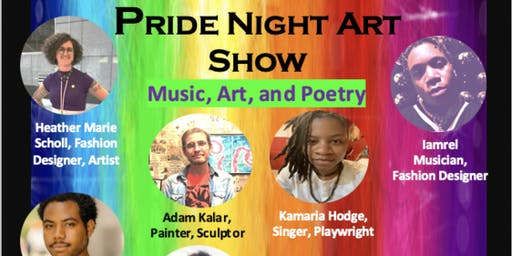 Pride Night Art Show at the House of Mark West Gallery