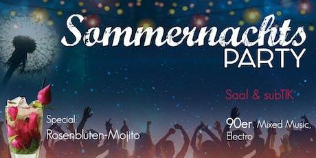 Sommernachtsparty Sa, 29.09.//@ T.I.K  Tickets
