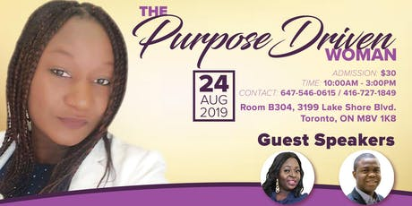 THE PURPOSE DRIVEN WOMAN tickets