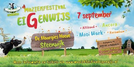 Muziekfestival EiGenwijs tickets