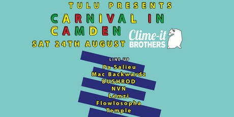 TULU Presents: Carnival In Camden! tickets