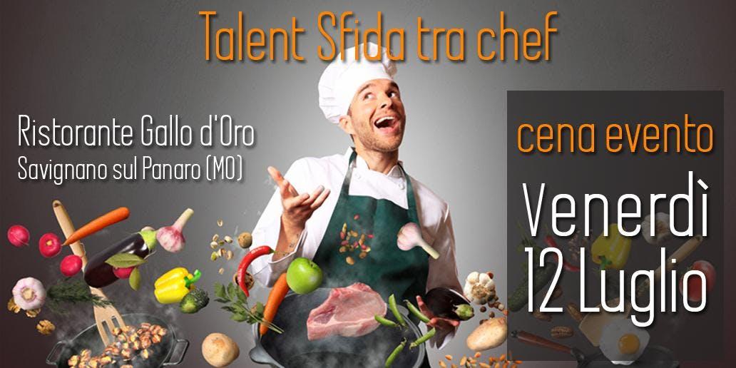 Talent sfida tra Chef con cena, giudice d'eccezione Stefano Callegaro