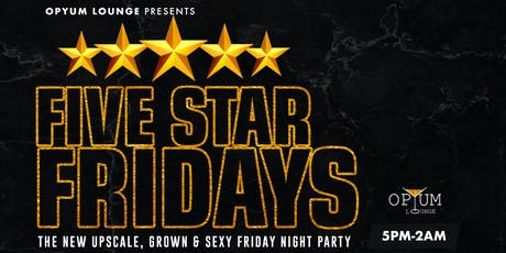 Five Star Fridays tickets
