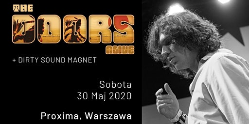 The Doors Alive - Proxima, Warszawa, PL