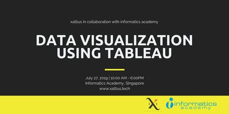 Data Visualization using Tableau tickets