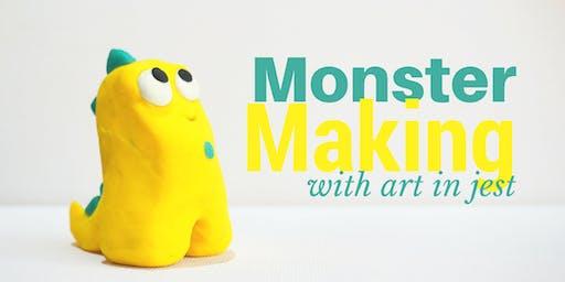 Monster Making at Makerhouse!